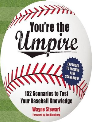 cover image of You're the Umpire