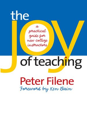 cover image of The Joy of Teaching
