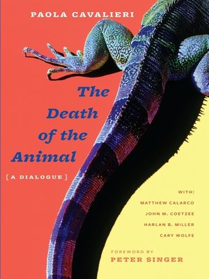 cover image of The Death of the Animal