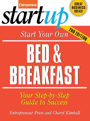 cover image of Start Your Own Bed and Breakfast