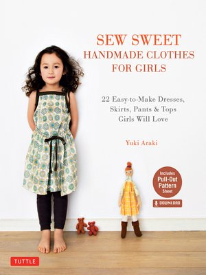 cover image of Sew Sweet Handmade Clothes for Girls