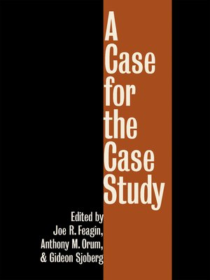 cover image of A Case for the Case Study