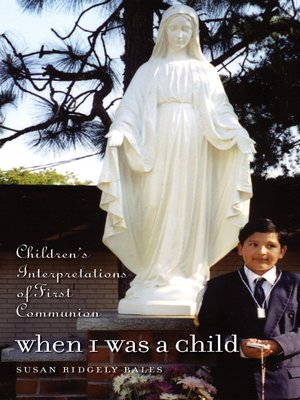 cover image of When I Was a Child
