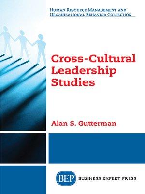 cover image of Cross-Cultural Leadership Studies
