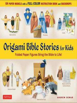 cover image of Origami Bible Stories for Kids Ebook