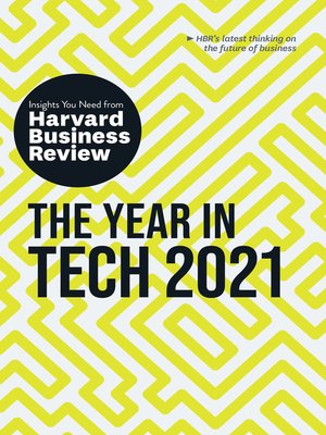 cover image of The Year in Tech, 2021