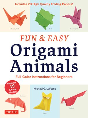 cover image of Fun & Easy Origami Animals Ebook