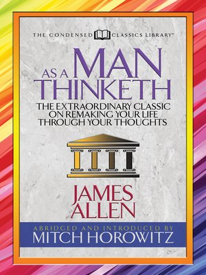 cover image of As a Man Thinketh (Condensed Classics)