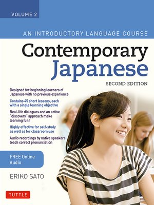 cover image of Contemporary Japanese Textbook Volume 2