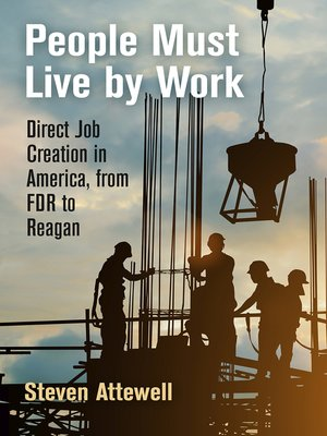 cover image of People Must Live by Work