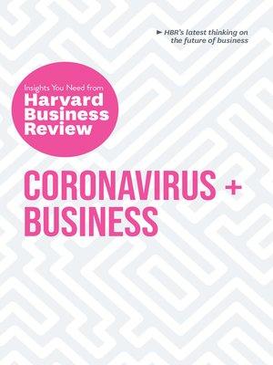 cover image of Coronavirus and Business