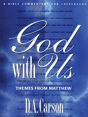 cover image of God with Us