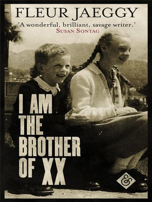 cover image of I am the Brother of XX