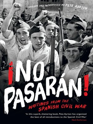 cover image of ¡No Pasaran!