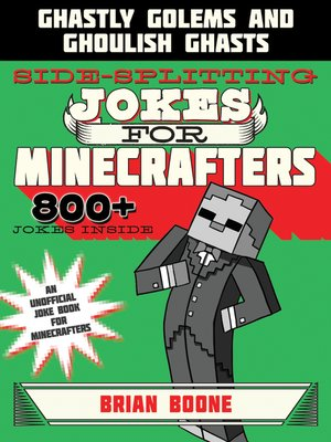 cover image of Sidesplitting Jokes for Minecrafters
