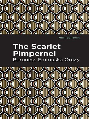 cover image of The Scarlet Pimpernel
