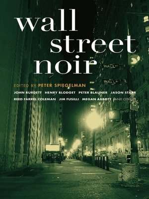 cover image of Wall Street Noir