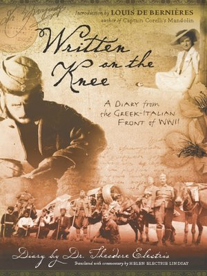 cover image of Written on the Knee