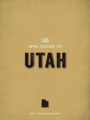 cover image of The WPA Guide to Utah