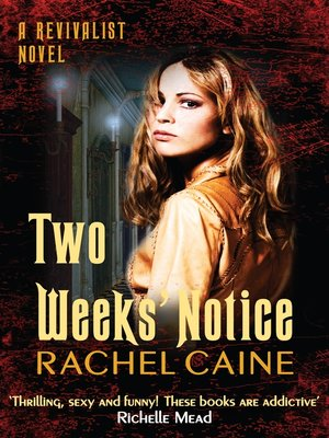 cover image of Two Weeks' Notice