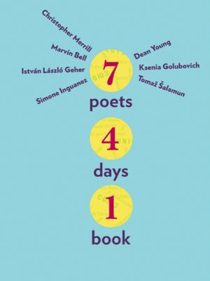 cover image of Seven Poets, Four Days, One Book