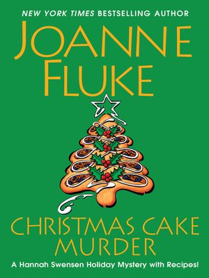 cover image of Christmas Cake Murder