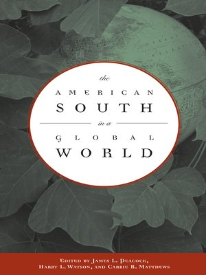 cover image of The American South in a Global World
