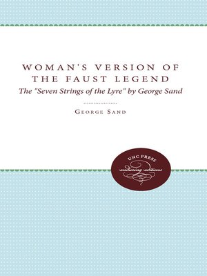 cover image of A Woman's Version of the Faust Legend