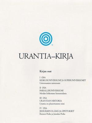 cover image of Urantia-kirja