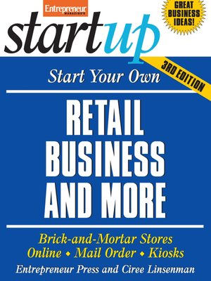 cover image of Start Your Own Retail Business and More