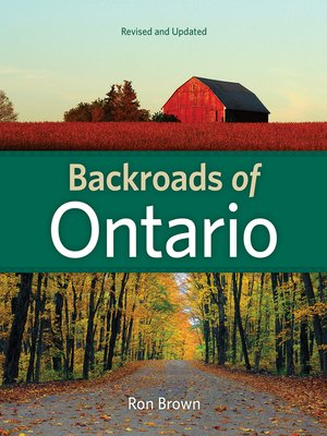 cover image of Backroads of Ontario