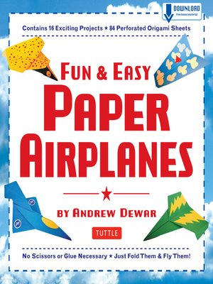 cover image of Fun & Easy Paper Airplanes