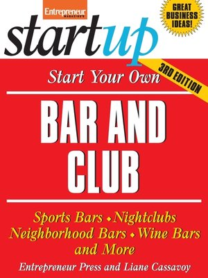 cover image of Start Your Own Bar and Club