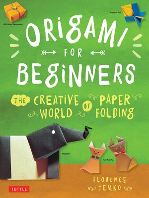 cover image of Origami for Beginners