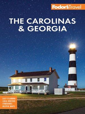 cover image of Fodor's the Carolinas & Georgia