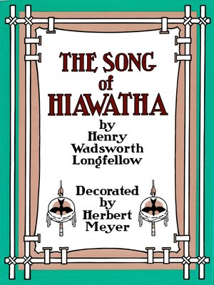 cover image of Song of Hiawatha