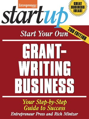 cover image of Start Your Own Grant Writing Business