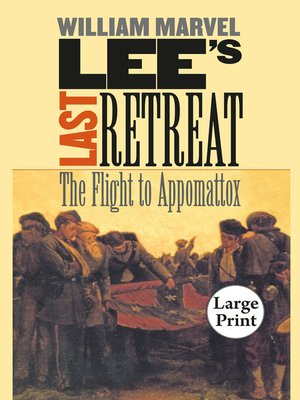 cover image of Lee's Last Retreat