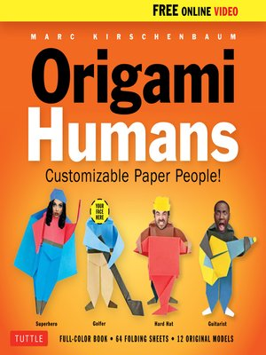 cover image of Origami Humans Ebook
