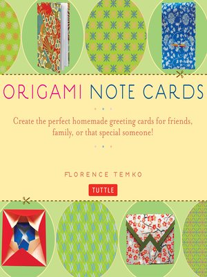 cover image of Origami Note Cards Ebook