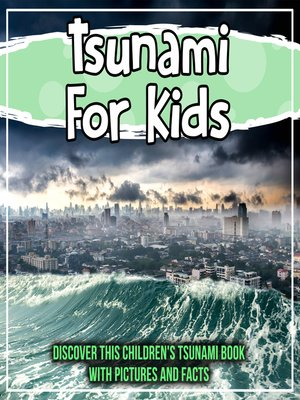 cover image of Tsunami For Kids