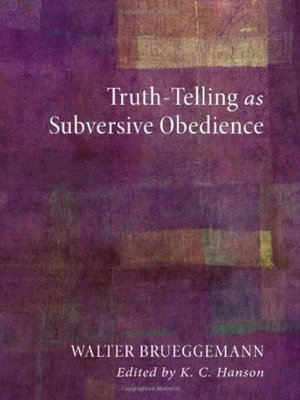 cover image of Truth-Telling as Subversive Obedience