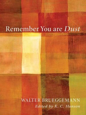 cover image of Remember You Are Dust