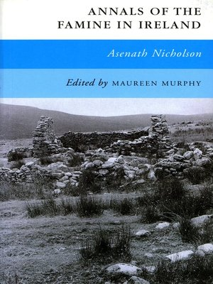 cover image of Annals of the Famine in Ireland