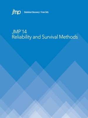 cover image of JMP 14 Reliability and Survival Methods