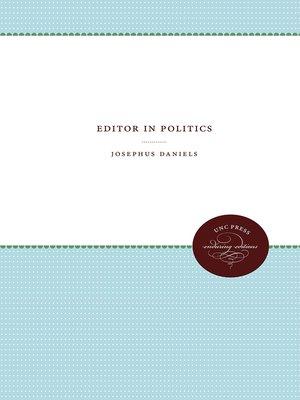 cover image of Editor in Politics