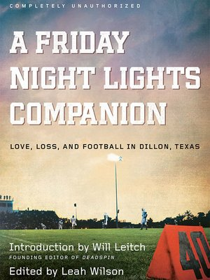 cover image of A Friday Night Lights Companion
