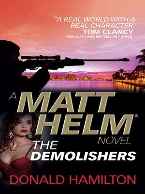 cover image of Matt Helm--The Demolishers