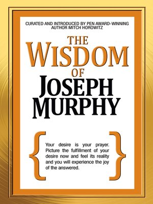 cover image of The Wisdom of Joseph Murphy