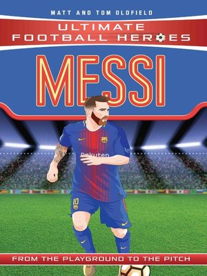 cover image of Messi (Ultimate Football Heroes)--Collect Them All!